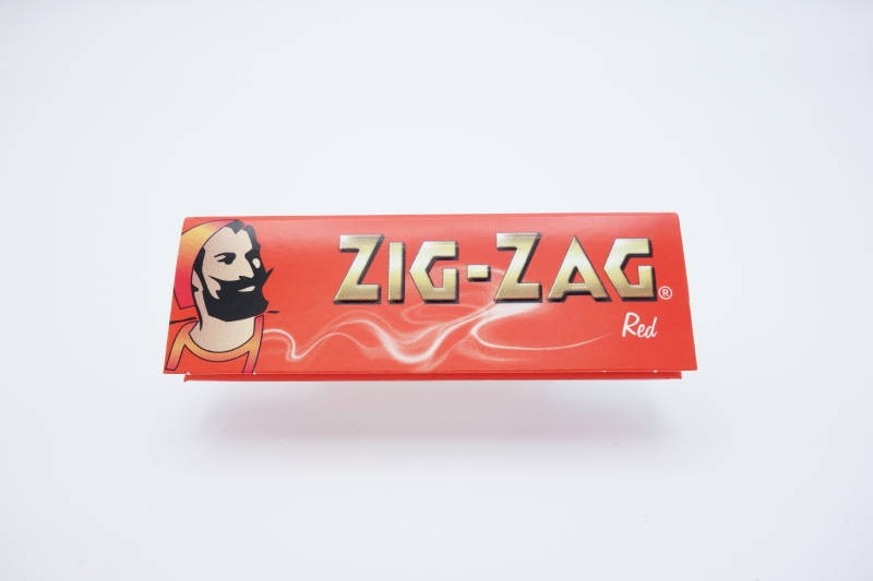 ZIG-ZAG PAPER SINGLE RED