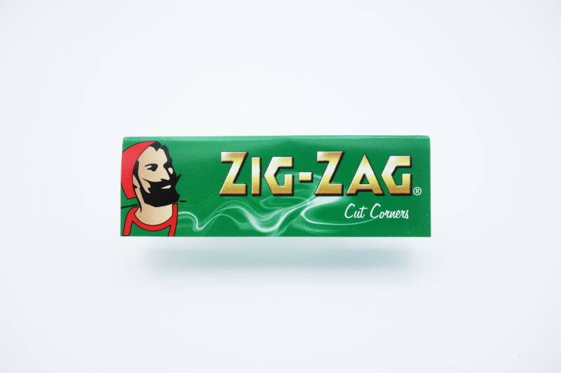 ZIG-ZAG PAPER SINGLE GREEN