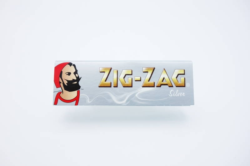 ZIG-ZAG PAPER SINGLE SILVER