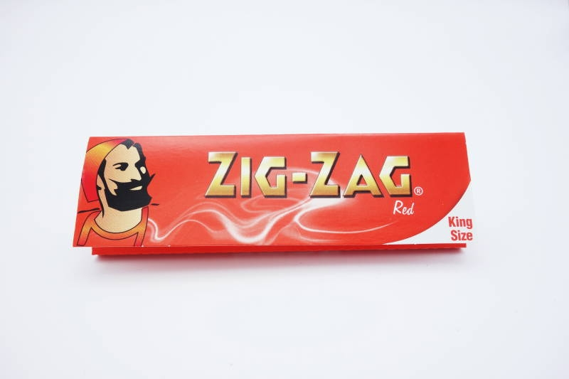 ZIG-ZAG PAPER KING RED
